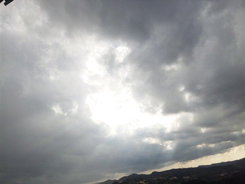 久留里城から見た空