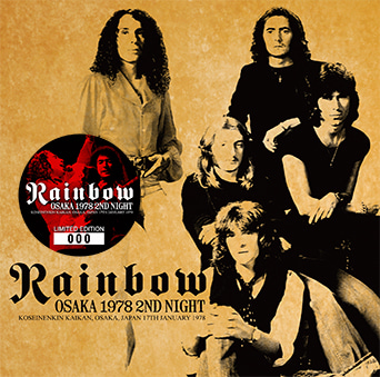 rainbow osaka 1978 2nd night rising arrow 054 cinnamon の音楽