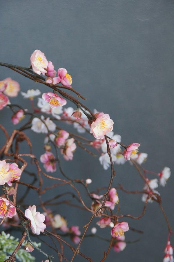 梅 造花 造花 いけばな