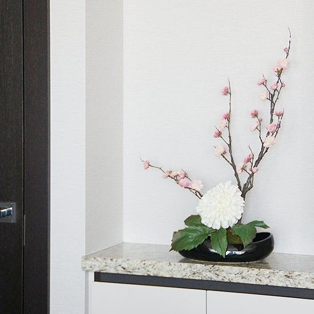 梅 造花 アートフラワー 和風 玄関