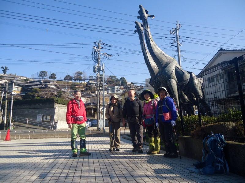 油木町から九州自然歩道を歩き『...