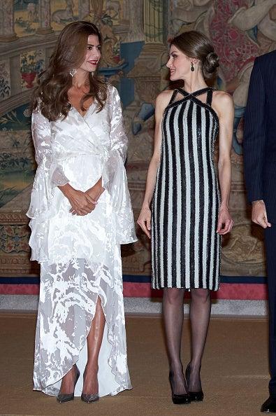 【スペイン王室】レティシア王妃&アルゼンチンファーストレディフリアナ夫人 レセプション