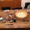 家族7人で手巻き寿司パーティー(^_-)の画像