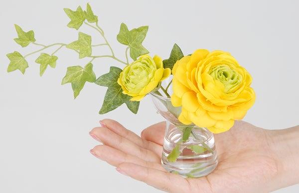 手のひらサイズ ラナンキュラス 造花