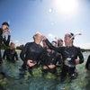青の洞窟には行くことができませんでしたが、お魚いっぱいのサンゴビーチでシュノーケル!!の画像