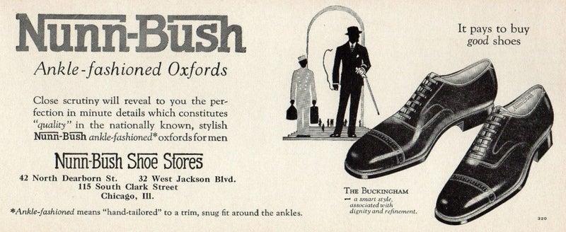 NUNN-BUSH ANKLE-FASHIONED  ad