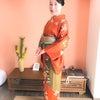 綺麗にしたらお出かけしなくちゃ♪企み女子・佳子さんの着付けレッスンの画像