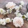 白無垢の花嫁さまへの髪飾り**の画像