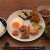 朝ごはんしっかり食べて(^_-)の画像