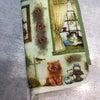 ファスナー付きブックカバーの画像