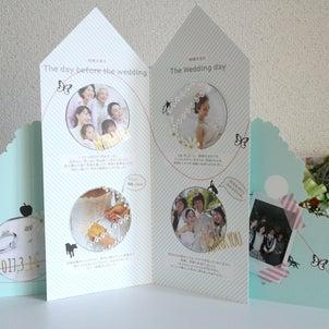 ウエルカムボードや、新居のアクセントに。Tama Wedding Bookを自分らしくアレンジ。の画像