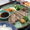 マサコーヌ帝塚山の行事食(ステーキ御膳)の画像
