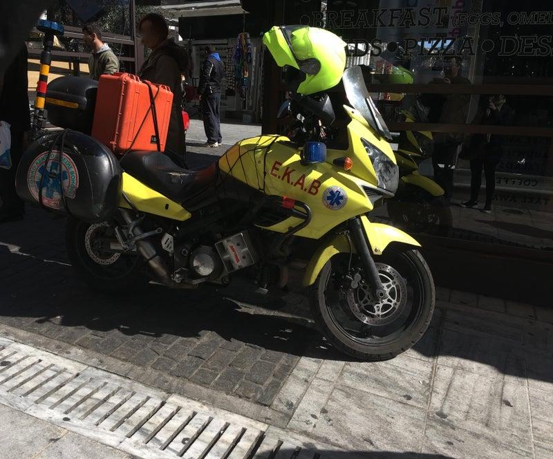 救急バイク | パンダ・ギリシャ