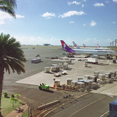 Hawaii到着。の記事に添付されている画像