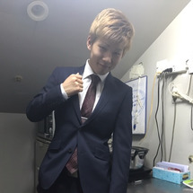 スーツ変えました