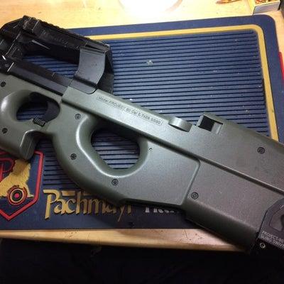 東京マルイ P90-HC(ハイサイクル) 分解編の記事に添付されている画像