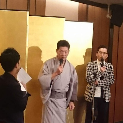 高橋慶彦還暦祝いの会司会 青井の記事に添付されている画像
