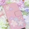 春らしいピンクレザーの携帯カバー♡の画像