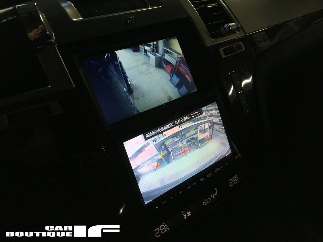 エスカレードのバックカメラ点検。。。の記事より