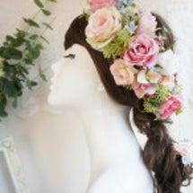 お花を纏うヘッドフラ…