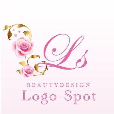 開業看板ロゴ,薔薇ロゴマーク作成,ロゴデザイン