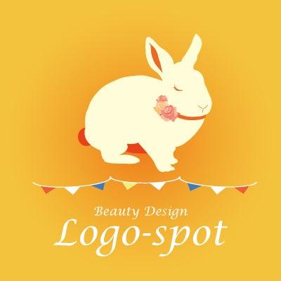 可愛いペットサロンロゴ,デザインロゴを簡単注文
