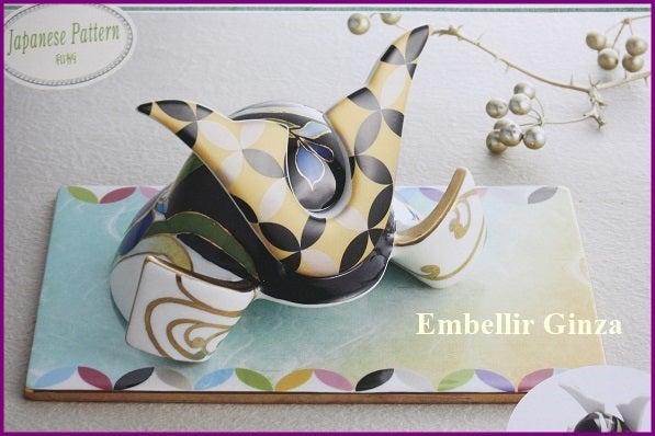 Embellir Ginza ポーセラ-ツ 兜レッスン の記事より
