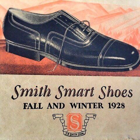 j p smith shoe 1928