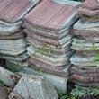 ブロック、屋根瓦、土…