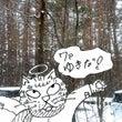 今日は雪が結構降って…