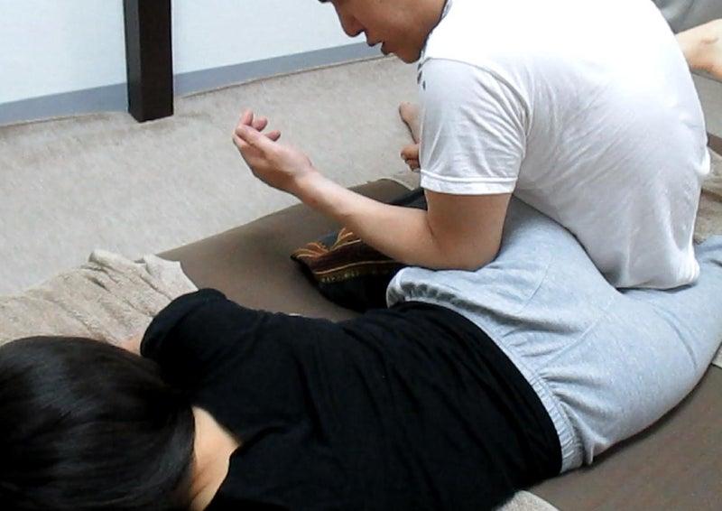 タイマッサージ連続技《腰~大腿部》後半4