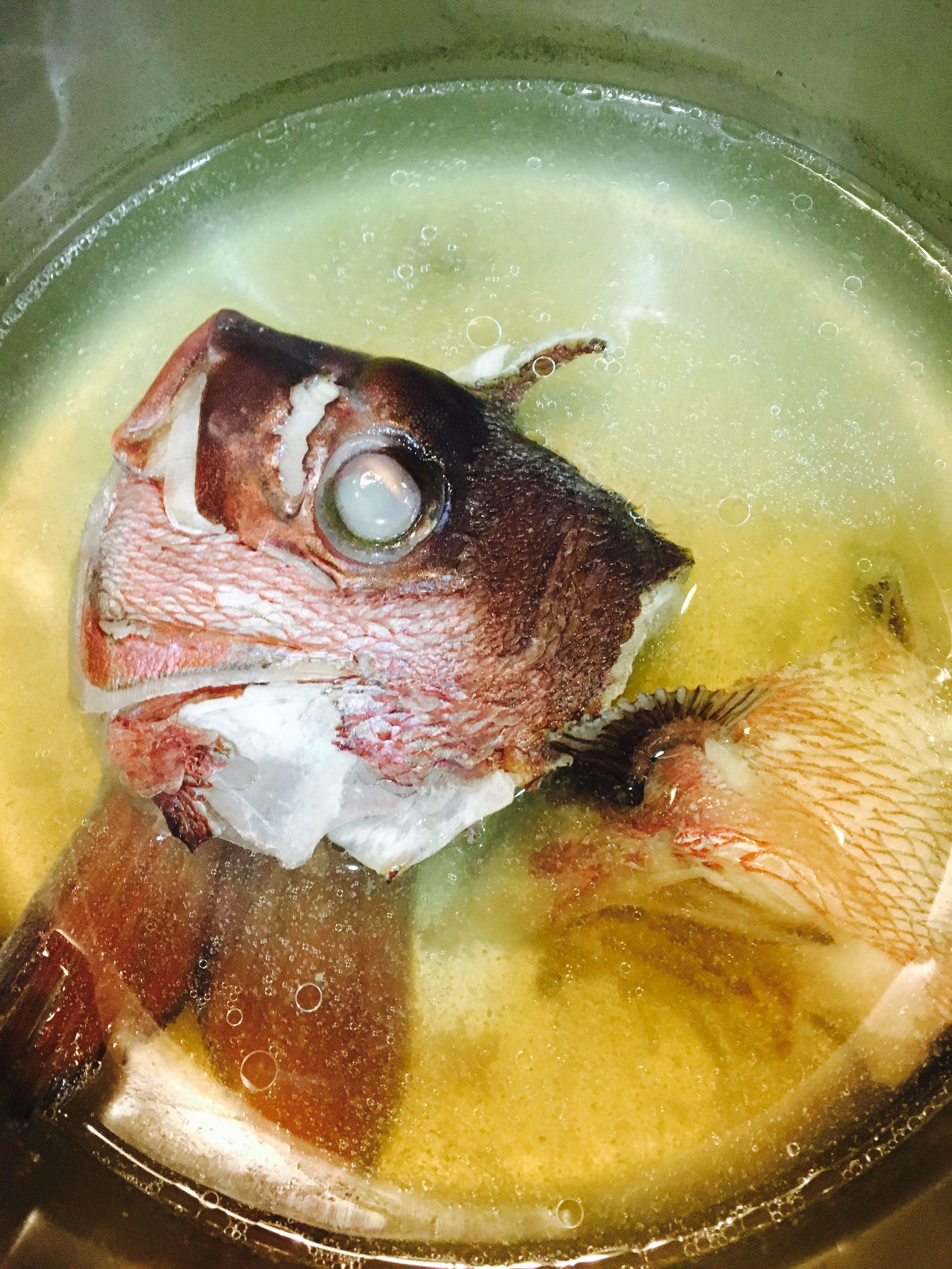 の あら汁 鯛