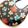 ■桜のかんざし 色鮮やかなべっ甲桜尽くし螺鈿金蒔絵かんざし。準礼装から普段のお着物にお勧め。の画像
