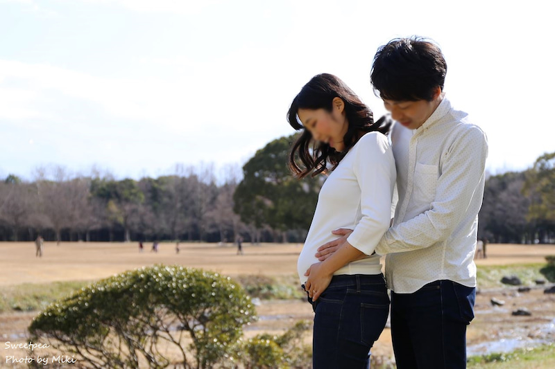 大阪 妊婦 妊娠中 プレママ マタニティフォト ロケーション撮影