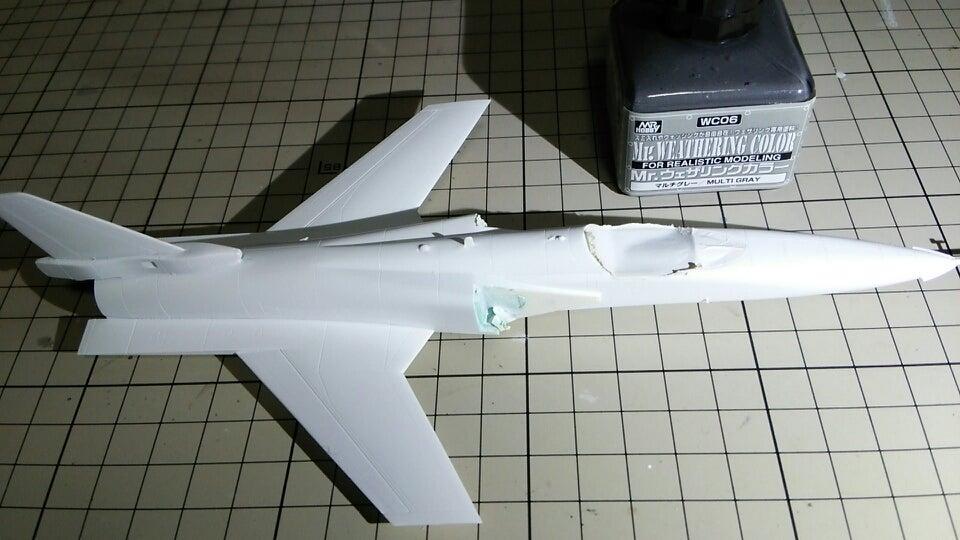 ゼロから始めるジェット機プラモデル【09】