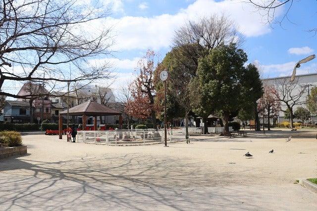 ポコちゃんのお散歩日記桃谷公園コメント