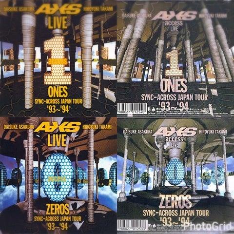 LIVE ZEROS ONES SYNC-ACROSS JA...