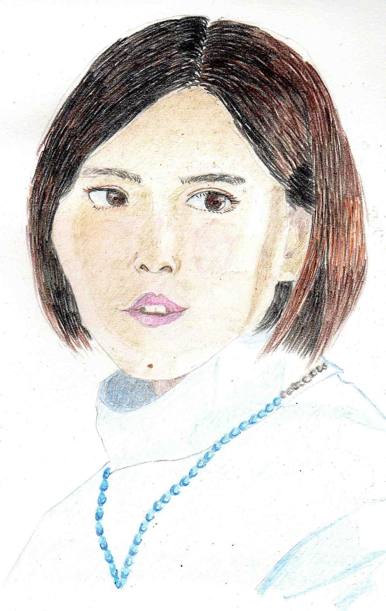 その彼女が、ドラマの中では実年齢は彼女より年上である同級生役のトリンドル玲奈さん、 川栄李奈さん、 森川葵さん、久松郁実さんを向こうにまわし、学校、学級の