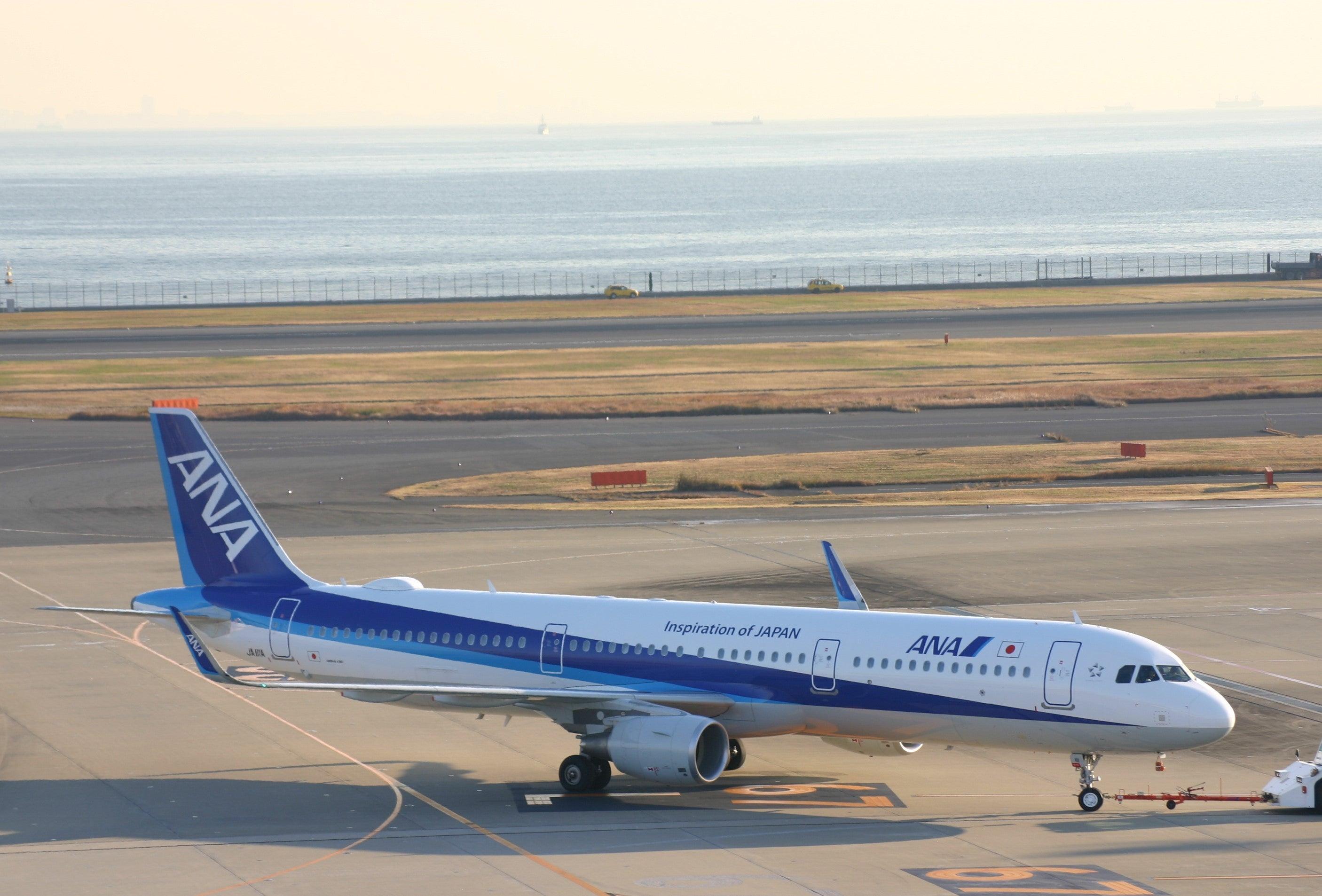 ANA・エアバス321が新千歳にやって来る!   乗り物好きトラベル ...