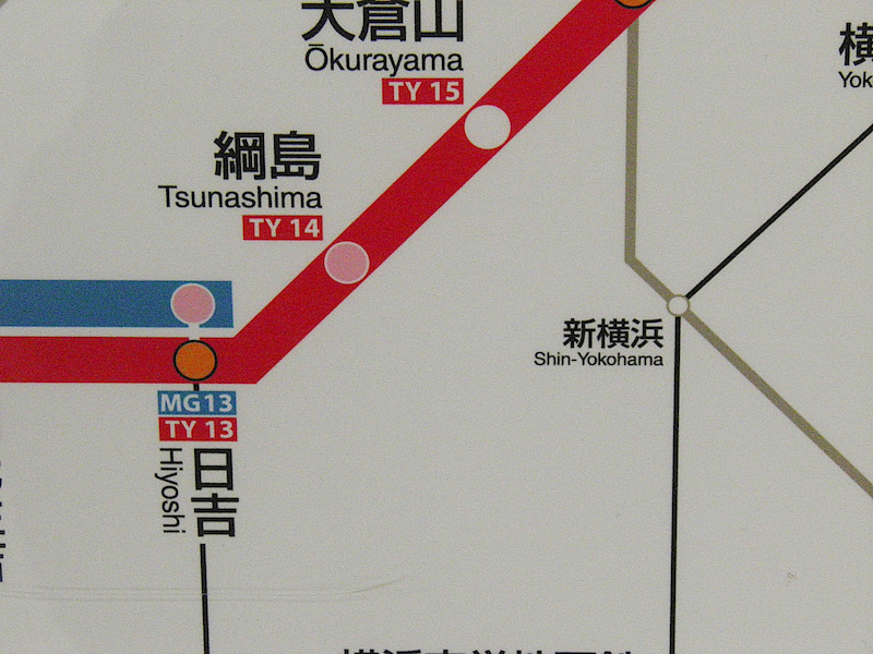 TKKseries8000‐677S-TRAINと神奈川東部方面線への準備?に対応した東急・みなとみらい線全線路線図コメント