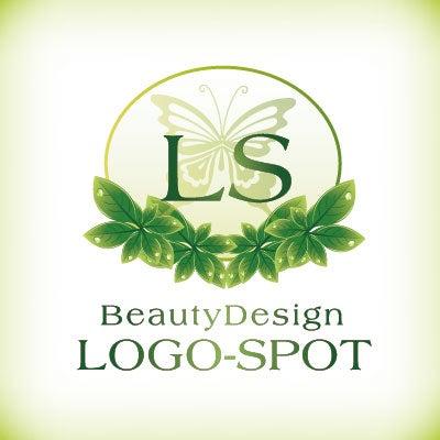 蝶ロゴ,サロン看板デザイン,ロゴ制作