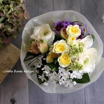 今月の花カフェは春いろブーケです♪*の記事に添付されている画像