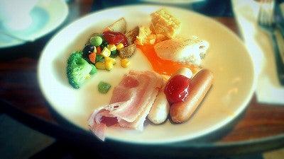 ホテルニューオータニの朝食