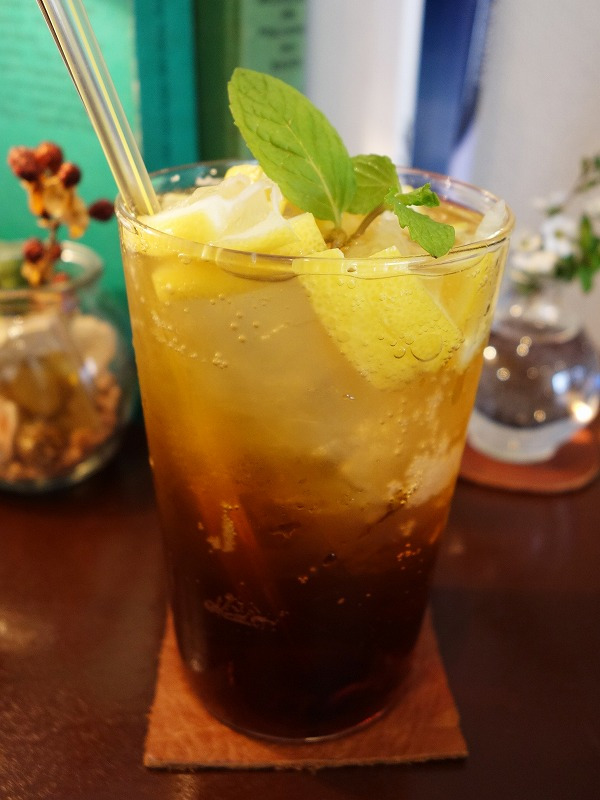 レモンティーソーダ(580円)日和cafe