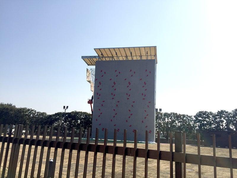 ボルダリング世界一の壁