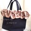 【レッスンご案内】Beaute Ribbon Bag by DRESS Mの画像