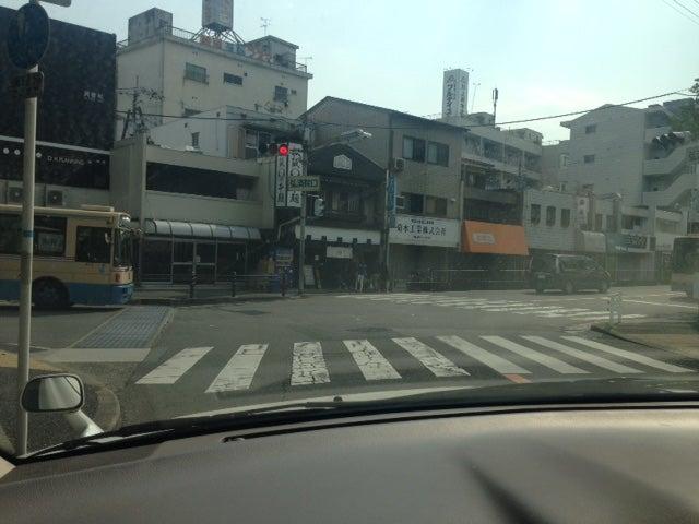吹田市「弘済院前交差点」にて 北大阪ペーパードライバー