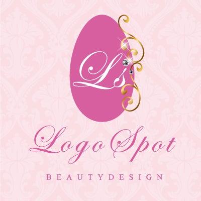 ネイルサロン看板ロゴ,可愛いネイルチップロゴ,ロゴ制作,ロゴデザイン