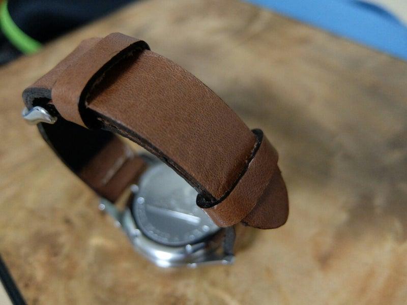 レザークラフト ~腕時計のベルト作り~ | ゾウムシ …