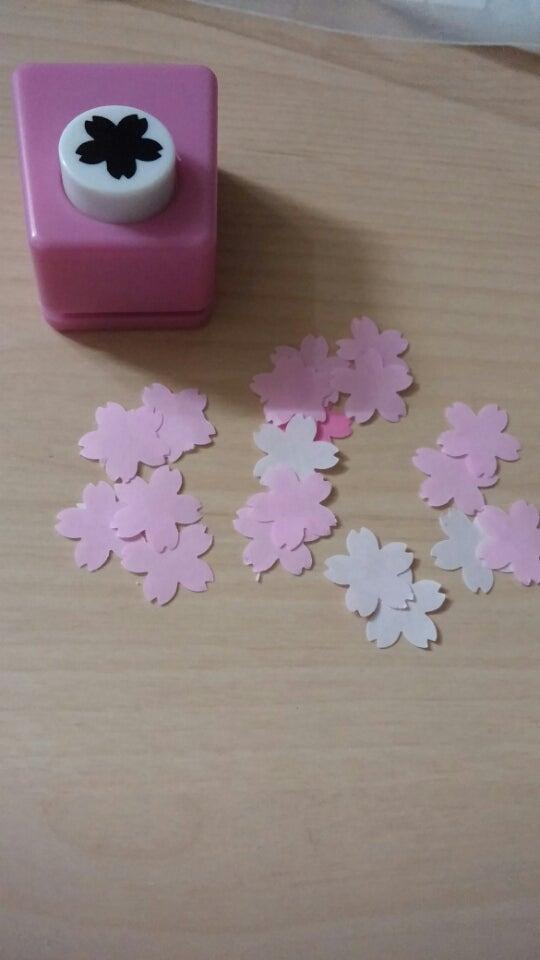 季節の工作レク*桜
